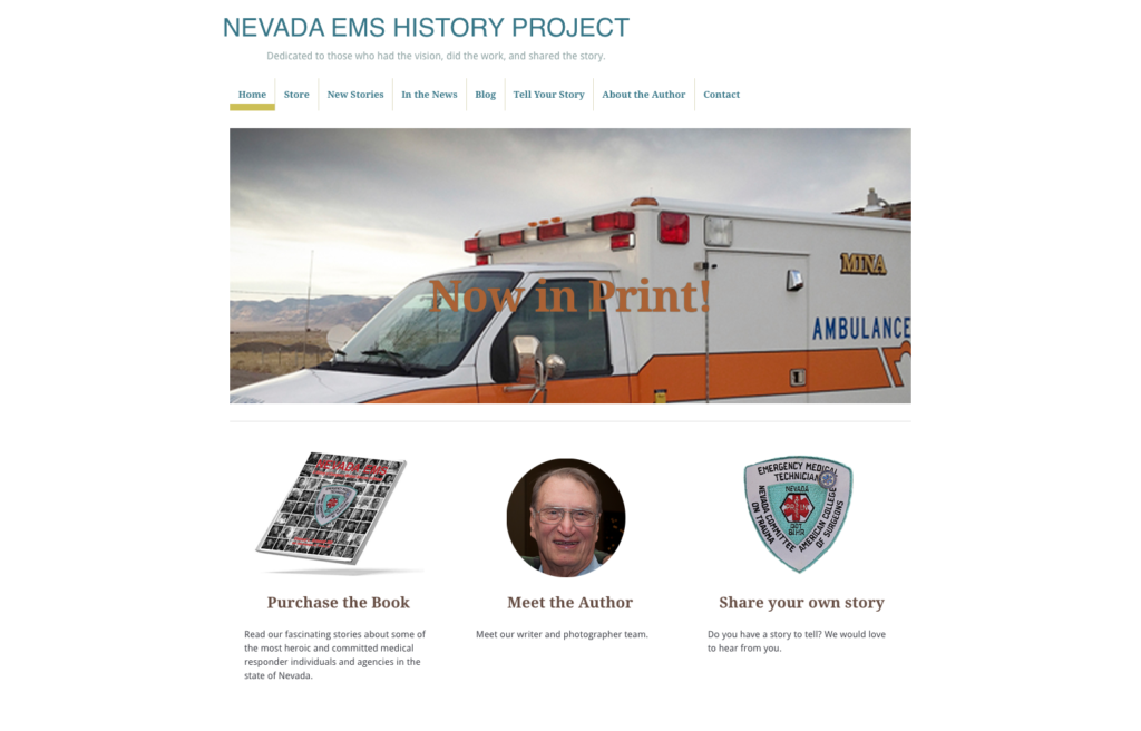 Nevada EMS History Project